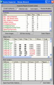 pX Scene Inspector - Award winner 3ds Max script tool