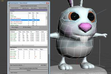 Scene Inspector: Inspect 3ds Max 3D models detecting issues and bad topology (Help Document)