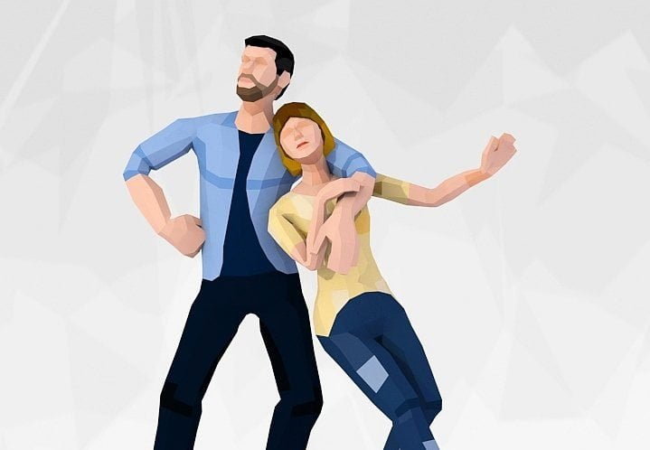 Free LowPoly Style Casual Couple 3D Characters - Denys Blog