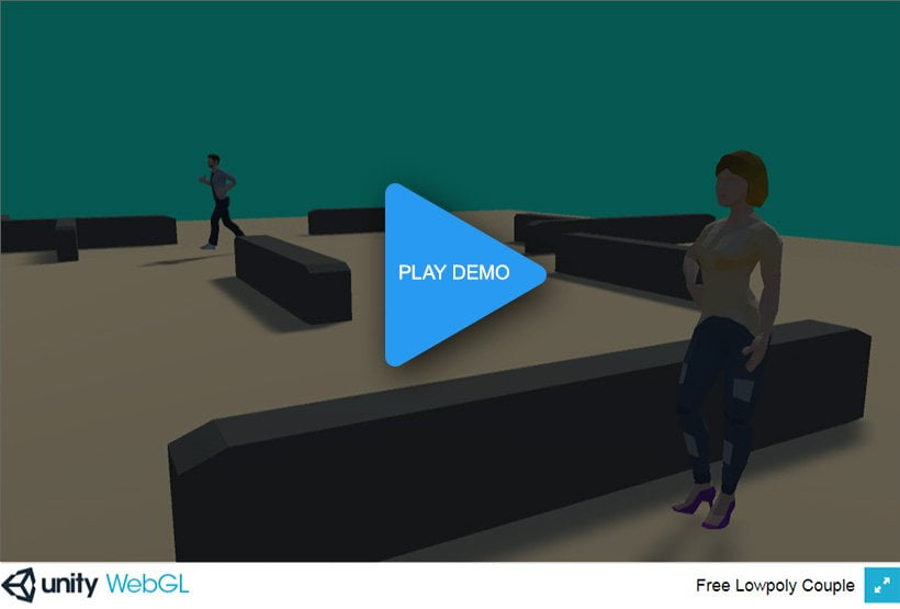 play demo unity lowpoly